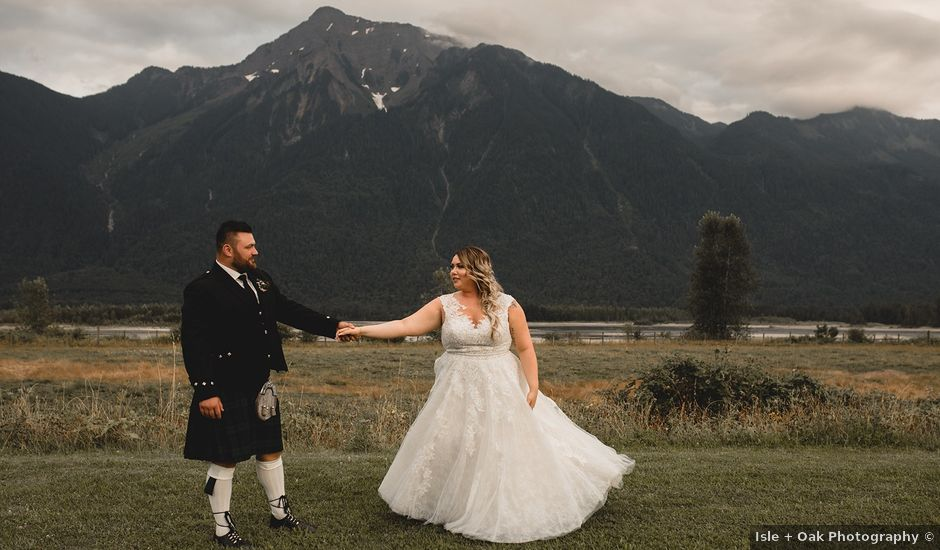Nick and Syd's wedding in Agassiz, British Columbia