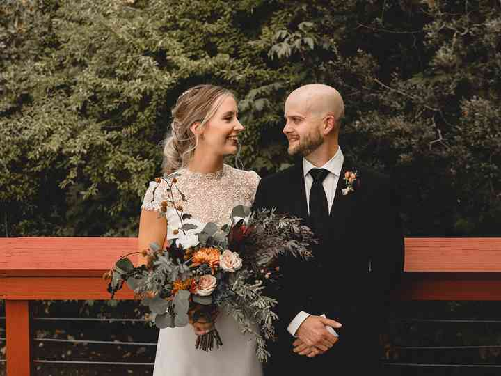 The wedding of Mark and Rachael
