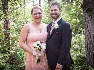 The wedding of Shaun and Janine