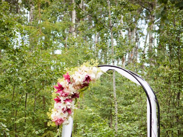 Janine and Shaun's wedding in Devon, Alberta 10