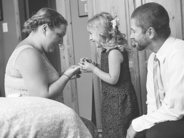 Janine and Shaun's wedding in Devon, Alberta 26