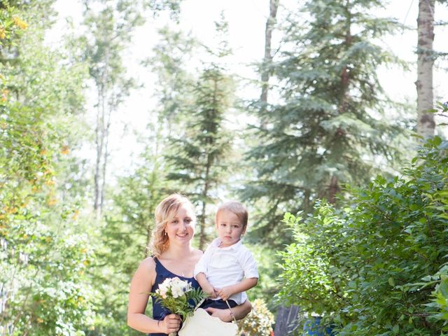 Janine and Shaun's wedding in Devon, Alberta 38