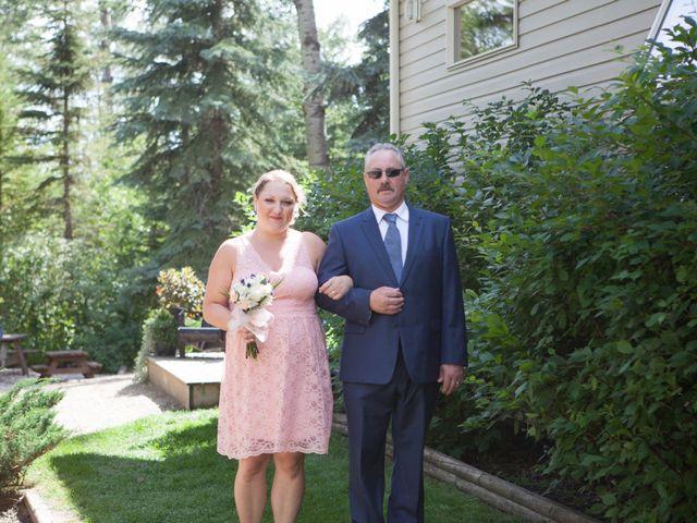 Janine and Shaun's wedding in Devon, Alberta 39