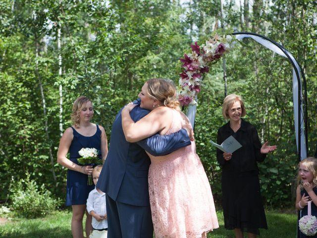Janine and Shaun's wedding in Devon, Alberta 40