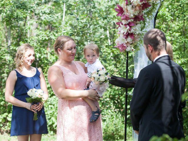 Janine and Shaun's wedding in Devon, Alberta 41