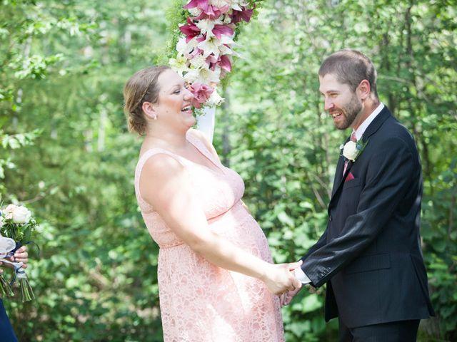 Janine and Shaun's wedding in Devon, Alberta 45