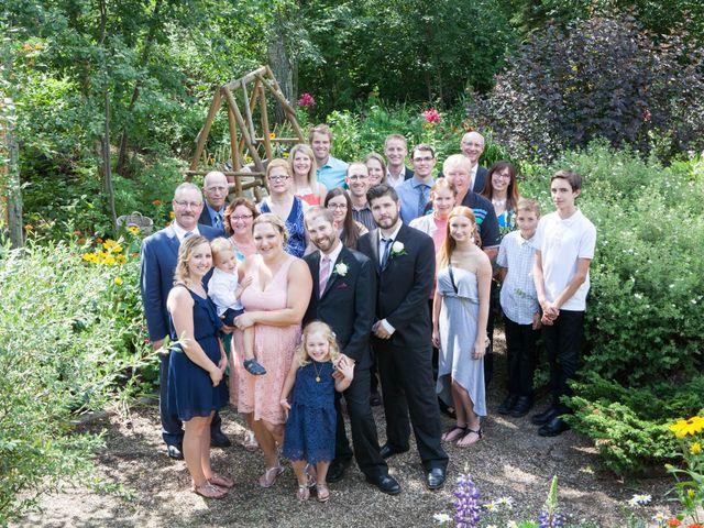Janine and Shaun's wedding in Devon, Alberta 48