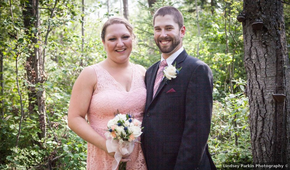 Janine and Shaun's wedding in Devon, Alberta