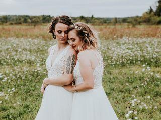 The wedding of Katrin and Christina