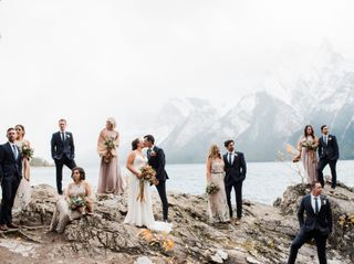 The wedding of Dana and Eric
