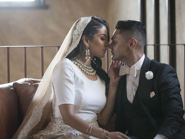 The wedding of Aisha and Jeffrey