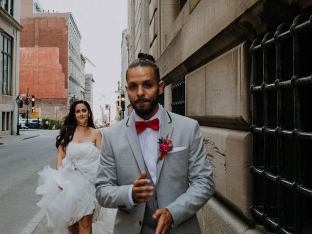 The wedding of Ariane and Mohamed