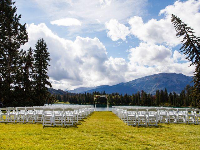 Braden and Jade's wedding in Jasper, Alberta 9