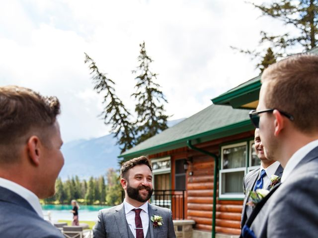 Braden and Jade's wedding in Jasper, Alberta 10