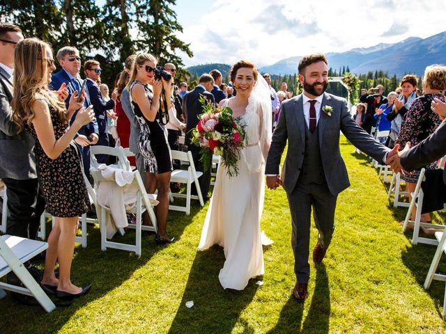 Braden and Jade's wedding in Jasper, Alberta 13