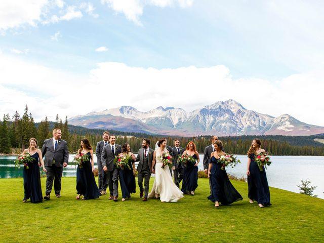 Braden and Jade's wedding in Jasper, Alberta 20