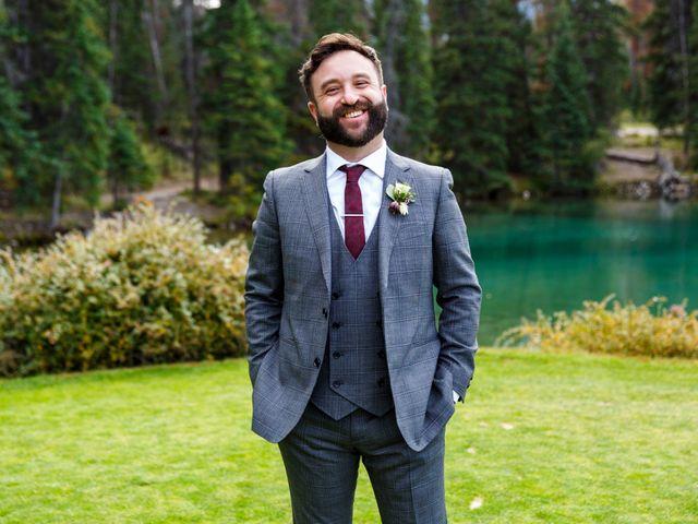 Braden and Jade's wedding in Jasper, Alberta 22