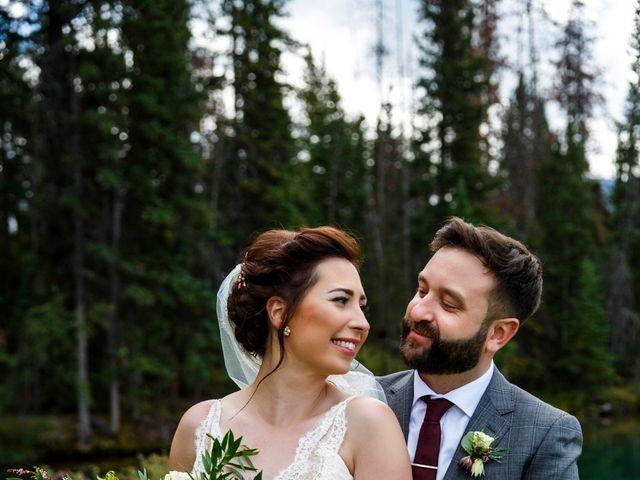 Braden and Jade's wedding in Jasper, Alberta 23