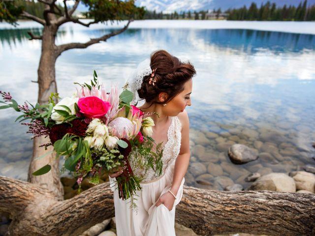Braden and Jade's wedding in Jasper, Alberta 25