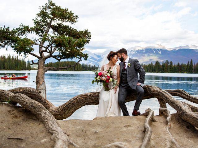 Braden and Jade's wedding in Jasper, Alberta 26