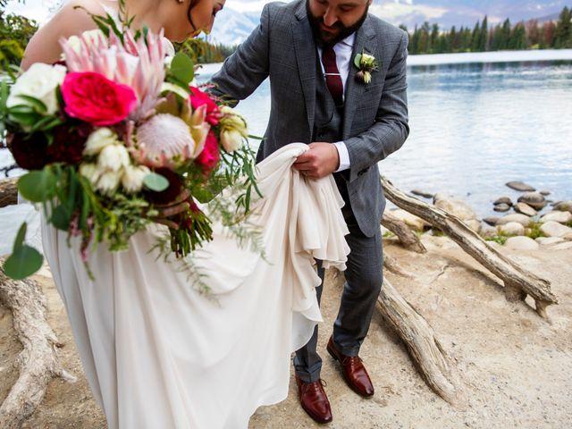 Braden and Jade's wedding in Jasper, Alberta 28