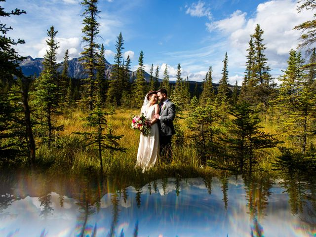Braden and Jade's wedding in Jasper, Alberta 30