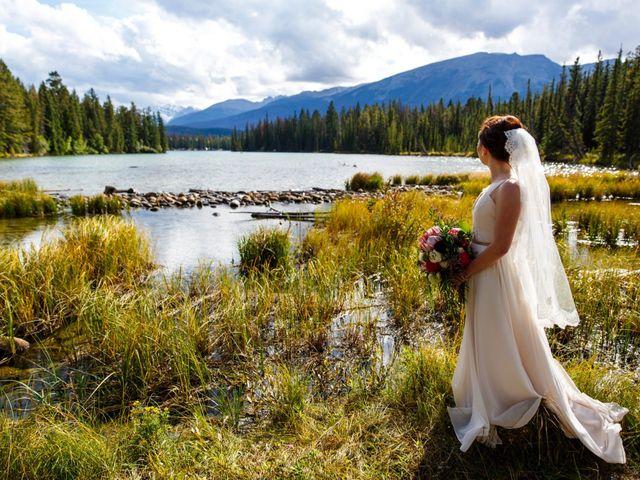 Braden and Jade's wedding in Jasper, Alberta 29