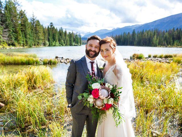 Braden and Jade's wedding in Jasper, Alberta 31