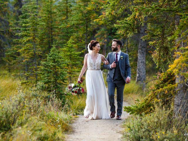 Braden and Jade's wedding in Jasper, Alberta 32