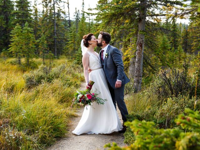 Braden and Jade's wedding in Jasper, Alberta 33