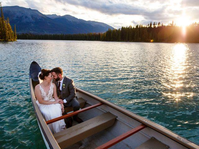 Braden and Jade's wedding in Jasper, Alberta 39