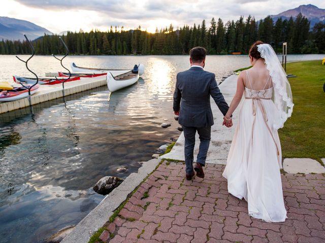 Braden and Jade's wedding in Jasper, Alberta 42
