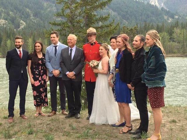 Nicholas and Karisa's wedding in Jasper, Alberta 1