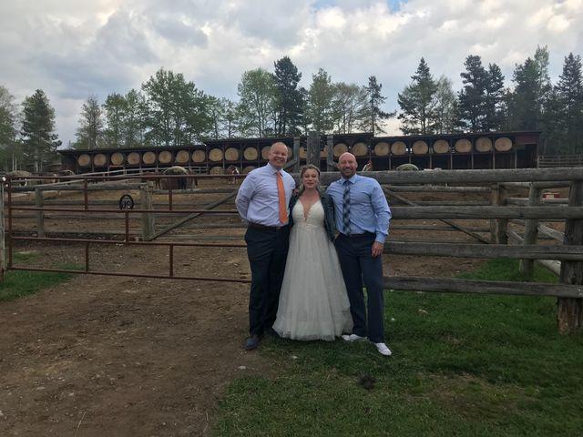 Nicholas and Karisa's wedding in Jasper, Alberta 2