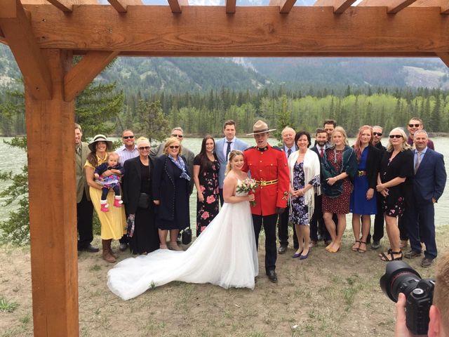 Nicholas and Karisa's wedding in Jasper, Alberta 5