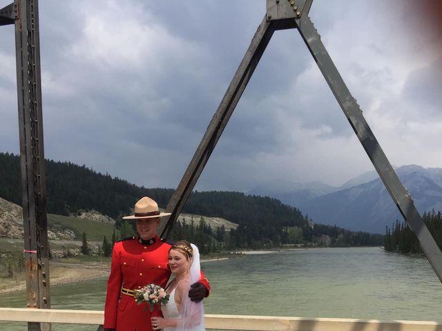 Nicholas and Karisa's wedding in Jasper, Alberta 7