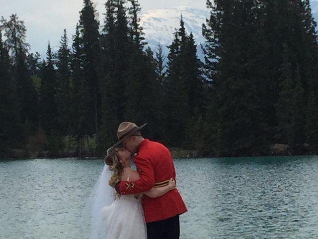 Nicholas and Karisa's wedding in Jasper, Alberta 8