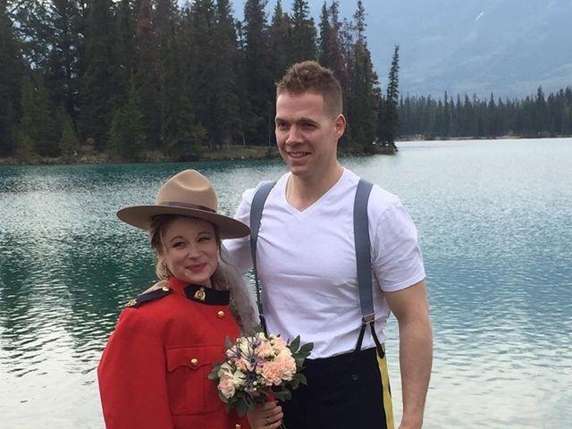 Nicholas and Karisa's wedding in Jasper, Alberta 10
