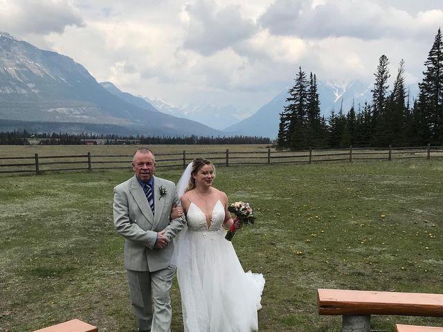 Nicholas and Karisa's wedding in Jasper, Alberta 22