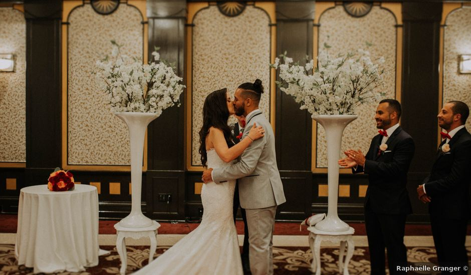Mohamed and Ariane's wedding in Montreal, Quebec