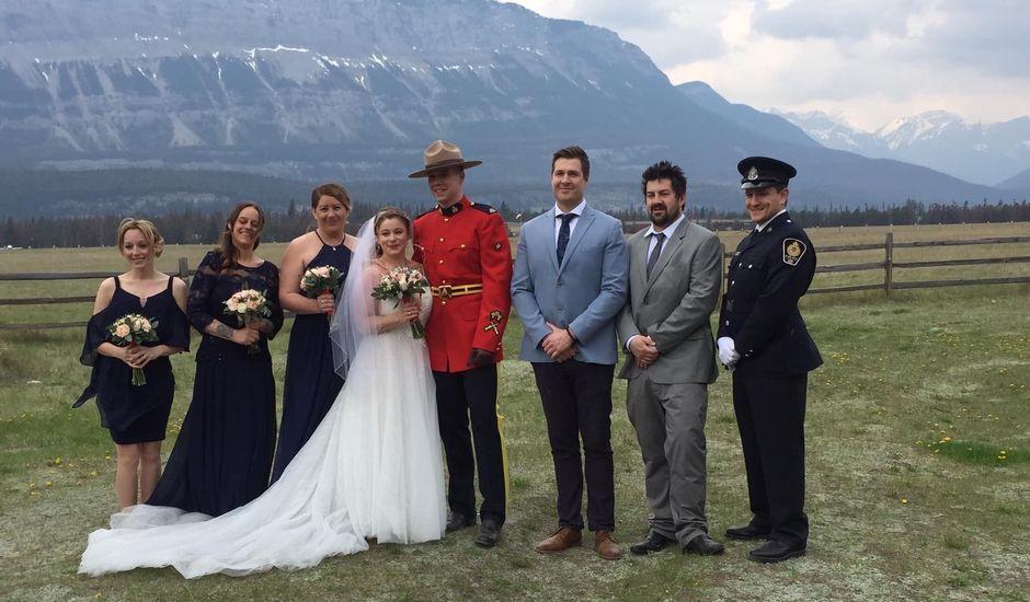 Nicholas and Karisa's wedding in Jasper, Alberta