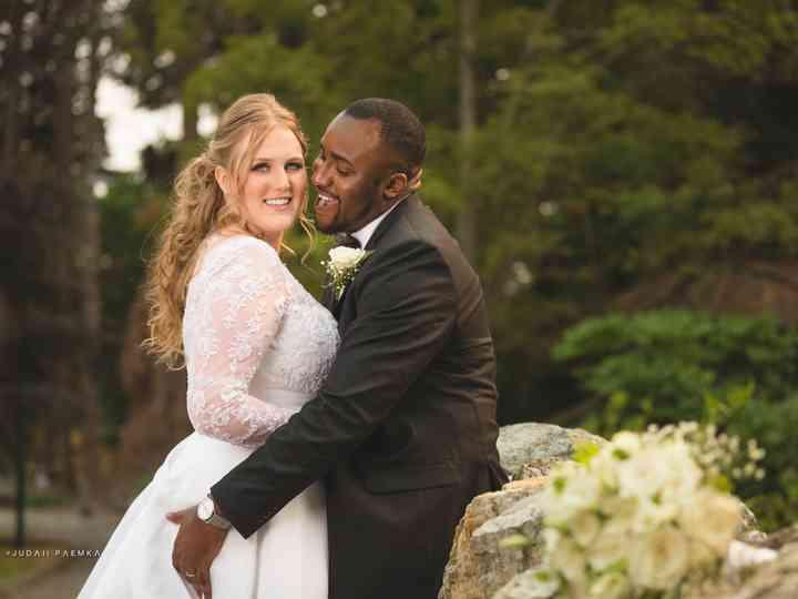 The wedding of Ashley and Femi