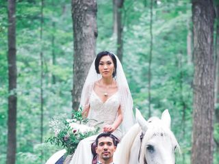 The wedding of Adeline and Brian