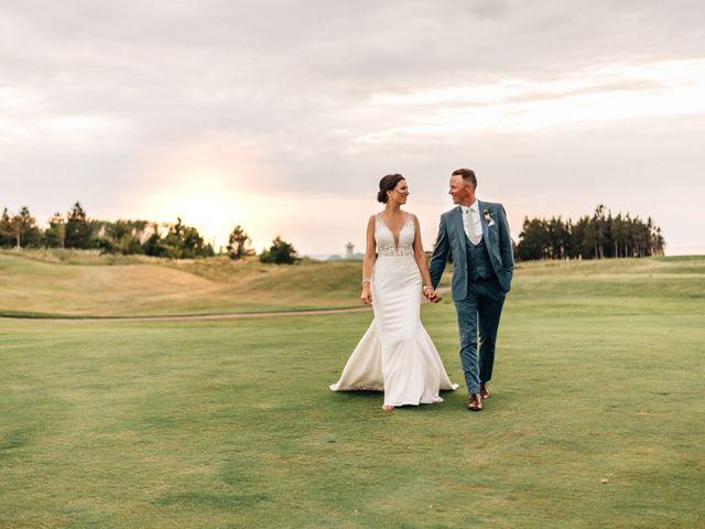 Jordan and Tara's wedding in Wallace, Nova Scotia 2