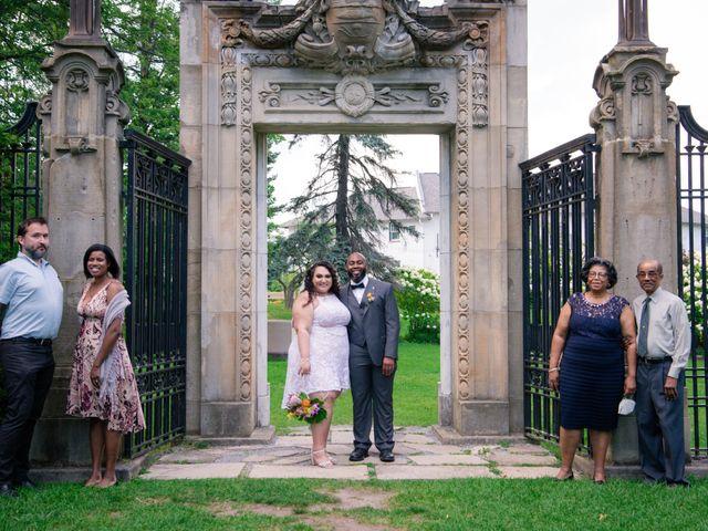 Kelly and Francis's wedding in Toronto, Ontario 8