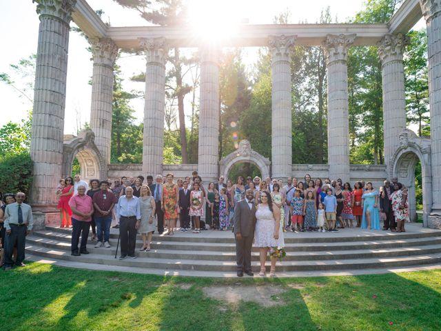 Kelly and Francis's wedding in Toronto, Ontario 11
