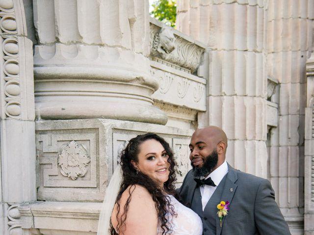 Kelly and Francis's wedding in Toronto, Ontario 12