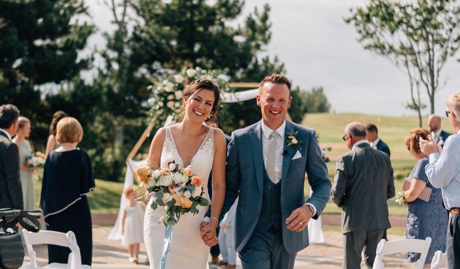 Jordan and Tara's wedding in Wallace, Nova Scotia