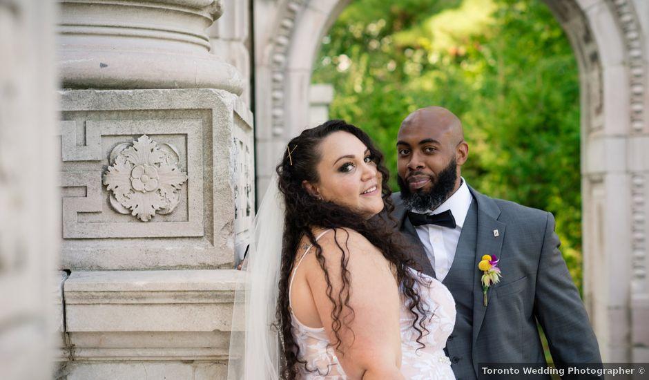 Kelly and Francis's wedding in Toronto, Ontario