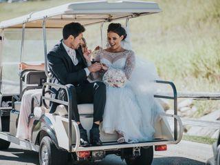 The wedding of Britni and Tyrel